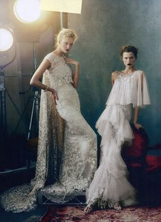 "Bridal Inspiration from ""Magic Kingdom"" – Marchesa's Georgina Chapman featured in American Vogue February 2013 Issue"
