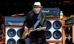 Neil Young in concert