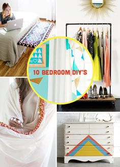 DIY-ify: 10 DIY Bedroom Makeovers to Update Your Room