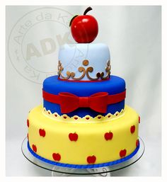 snow white cake ideas