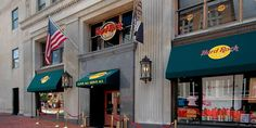 Hard Rock Cafe in Washington, DC. I've been here several times and only have good memories!