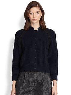 3.1 Phillip Lim - Chunky-Knit Chenille Jacket
