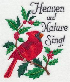 Machine Embroidery Designs at Embroidery Library! - Spirit of Christmas