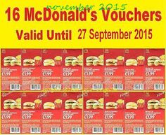 Mcdonalds Coupons Promo Coupons will expired on MAY 2020 ! McDonalds currently has the technology and welcomes online customers. Free Mcdonalds Coupons, Grocery Coupons, Free Printable Coupons, Free Printables, Voucher Sample, Dollar General Couponing, Coupons For Boyfriend, Love Coupons