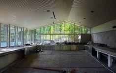 abandoned sanatorium near Vienna