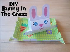 Spring is here and the bunnies are out! Make your own bunny at home using our free printable | alextoys.com