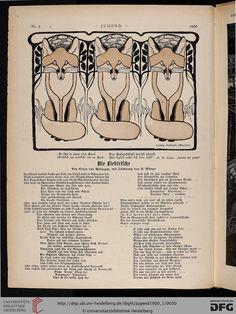 Jugend: Münchner illustrierte Wochenschrift für Kunst und Leben (5.1900, Band 1 (Nr. 1-26))
