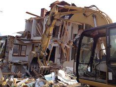 House demolition on Heatherwood Drive--restoring Polegreen's historic viewshed!