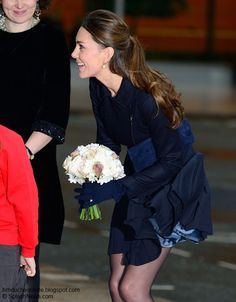 Duchess Kate: Kate Attends Place2Be Forum In MaxMara and Orla Kiely