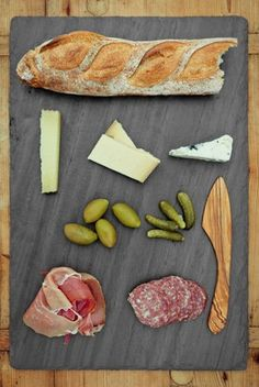 Brooklyn Slate Cheese Board 10 x 14