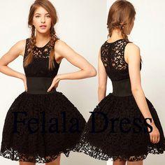 Hey, j'ai trouvé ce super article sur Etsy, chez https://www.etsy.com/fr/listing/191950913/short-prom-dresses-lace-prom-dressshort