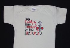 My Daddy's been workin' on the RAILROAD by KenaKreations  $20.00