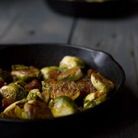 Brown Sugar Bacon Brussels Sprouts - Savory Simple
