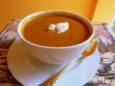 FALL PUMPKIN SOUP - I had no idea pumpkin soup can be so delicious!