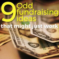 Sometimes the best approach to fundraising is creativity. Here are 9 odd ideas that just might help you raise the support you need for your mission trip. /// crazy as it is I'm thinking about love 5 and Fundraising Activities, Nonprofit Fundraising, Fundraising Events, Easy Fundraising, Fundraising Ideas For Clubs, Creative Fundraising Ideas, Church Fundraisers, Volunteer Gifts, Volunteer Appreciation
