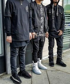 Which fit is the best? @wes_cali_fa #yeezyrotation Be sure to follow our outfit inspiration page @fitrotation
