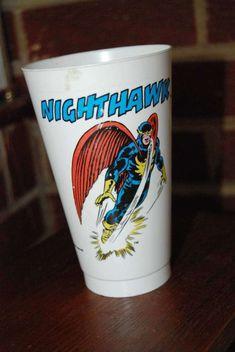Nighthawk Defenders 7-11 Slurpee Cup 1975 Marvel Comics: $2.99 (0 Bids) End Date: Monday Apr-2-2018 7:45:21 PDT Bid now | Add to watch list