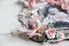 Cards by Camilla:vlinder op koffiefilter
