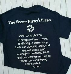 Praying for the love of soccer ⚽