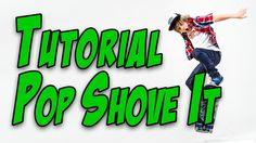 Jak na Pop Shove It  tutoriál, How to easy Pop Shove It  tutorial - secrets of skateboarding
