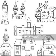 Vector Art : Castle and fortress collection