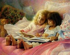Side by Side    ---    by Greg Olsen    Signed by the Artist Paper Lithograph Limited Edition 1500 S/N 15 3/8 x 19 5/8