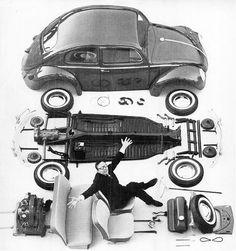 Volkswagen in parts 1960