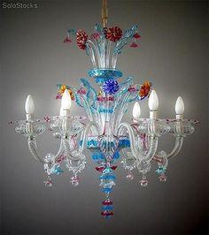 vetrerie murano lampadari : Lampadario di vetro di Murano Vetro di Murano / the Art of Italian ...