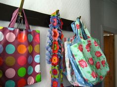 colorfull bags i would like to have...