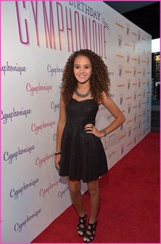 Madison Pettis At Cymphonique Miller's Sweet 16 Birthday Party
