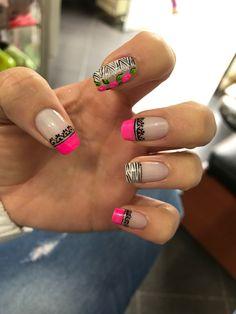 Manicure And Pedicure, Fun Nails, Nail Art Designs, Hair Beauty, Make Up, Nice Nails, Nail Arts, Rose Nails, Art Nails