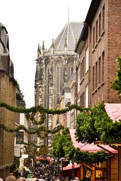 Christmastime in Aachen, Germany