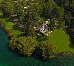 Huka Lodge, New Zealand from the air... Beautiful #aerial photo by @skyvision.nz  #newzealand #newzealandphotography #aerialphoto #green #waikato #drone #dronestagram #holiday #vacation #luxury #lodge