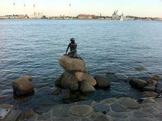 Fotografía: Dina  Sirenita de Copenhague