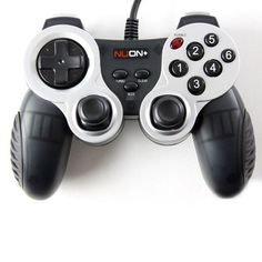[Joytron] NUON PLUS USB Gamepad Controller with Dual Vibration & 6buttons for PC
