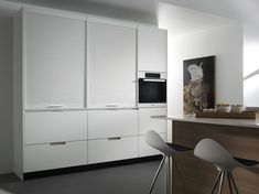 White and wood kitchen Furniture Collection, Interiores Design, Innovation Design, Timeless Design, Home Kitchens, Furniture Design, New Homes, Furnitures, Wood