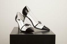 Red or Dead x Ashley Williams black Plaza heels