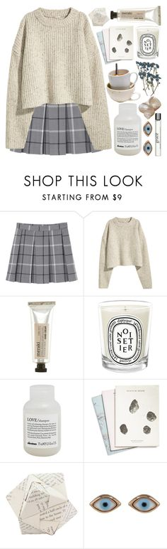 """""""☽i got drums in my galaxy, it sounds like anarchy, i fell down down down, from a coma dream, into your arms☽"""" by eveebaptiste ❤ liked on Polyvore featuring beauty, Monki, Meraki, Diptyque, Davines, Maison Scotch, Dot & Bo, Sydney Evan and philosophy"""