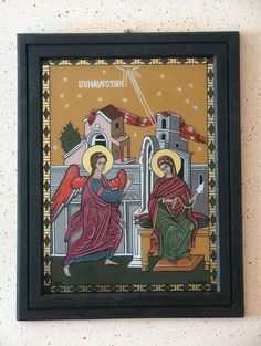 Frame, Glass, Icons, Painting, Home Decor, Picture Frame, Decoration Home, Drinkware, Room Decor