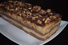Snickers-Eistorte