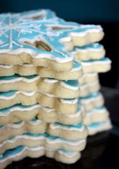Erica's Sweet Tooth » Snowflake Sugar Cookies