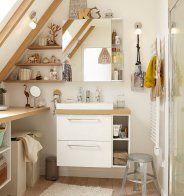 Un grand miroir lumineux pour la salle de bains - Marie Claire Maison