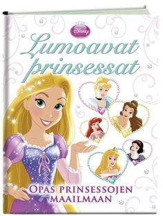 Prinsessat, Lumoavat prinsessat -kirjaa on odotettu! Yksien kansien välissä kerrotaan yhdeksän ihailluimman prinsessan lyhennetty taustatarina, kuvaillaan tarinan hahmot ja annetaan kunkin prinsessan elämään liittyviä vinkkejä. Lisäksi jokainen prinsessa on kirjoittanut runon, josta voi vaikka tehdä laulun keksimällä siihen itse sävelen.