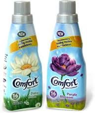 Image result for comfort fabric conditioner Fabric Softener, Juice Bottles, Conditioner, Water Bottle, Label, Packaging, Flower, Image, Food