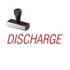 Get the Regular Discharge Rubber Stamp online from Acorn Sales.This medical rubber stamp and makes communication more efficient. Rubber Stamp Online, Office Stamps, Stamp Pad, Acorn, Communication, Therapy, Medical, How To Make, Tassel