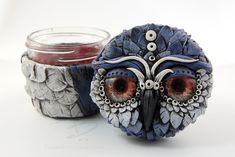 Owl Stash Jar by TinfoilHalo