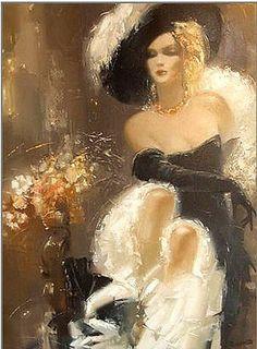 Roman Garassuta, 1958   Tutt'Art@   Pittura * Scultura * Poesia * Musica #art #painting #woman