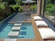 klein zwembad in tuin - Google zoeken