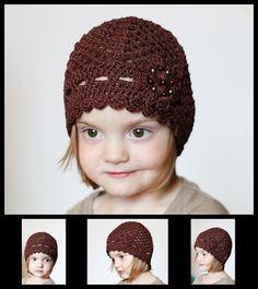Crochet with love - Hand made Ája: ELEGANTNÍ KRAJKOVÁ ČEPIČKA