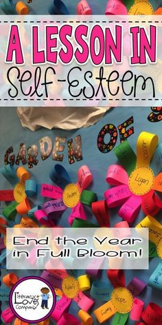 Brighten up your elementary student's self-esteem with this end of the school year lesson idea and fun classroom activity. ~ Literacy Loves Company